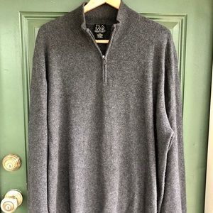 Jos. A. Bank Sweaters - 100% Cashmere Jos. A. Bank Half Zip Sweater